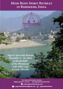 Yogaveda India Retreat 2016 - 01