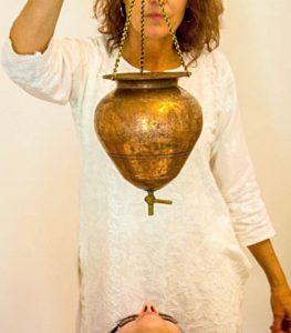 Leah Albrecht, director of Ayurvedic Therapies at Yogaveda.
