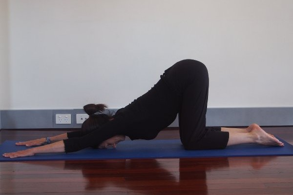Back Stretch Yoga Pose